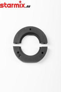 DUSTCO aansluitring tbv Dusttoolkap 125mm Bosch 125A/B (RC4) C861030