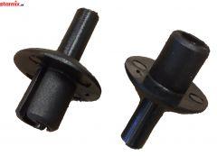 Starmix set asborg doppen voor achterwielen ISP iPulse en ISC, 408903